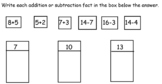 Go Math Chapter 8 (Two-Digit Addition and Subtraction) First Grade