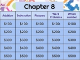 Go Math! Chapter 8 jeopardy review game