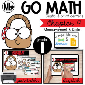 GoMath-First Grade Math Centers, Measurement and Data, Chapter 9