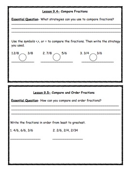 Go Math Chapter 9 Essential Question Exit Slips