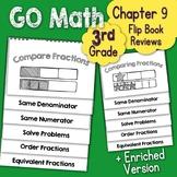 Go Math Chapter 9 Flip Book Reviews - 3rd Grade