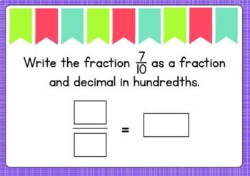 Go Math Chapter 9 Review Task Cards-4th Grade