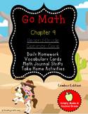 Go Math Chapter 9 Second Grade Supplemental Resources-Common Core