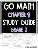 Go Math Chapter 9 Study Guide Grade 3