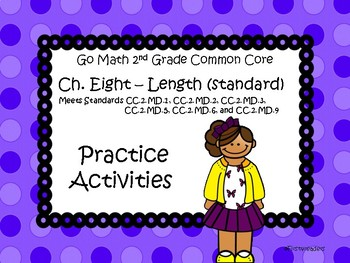 Go Math Chapter Eight Activites Grade 2