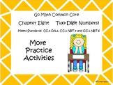 Go Math Chapter Eight More Activities Grade 1