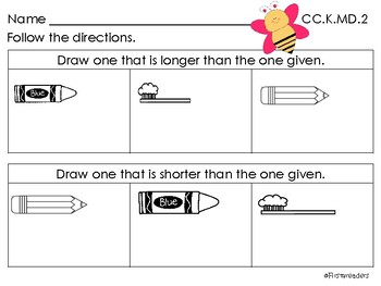 Go Math Chapter Eleven K Activity Sheets