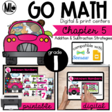 GoMath-First Grade Math Centers,Addition and Subtraction Relationships,Chapter 5