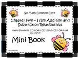 Go Math Chapter Five Mini Book