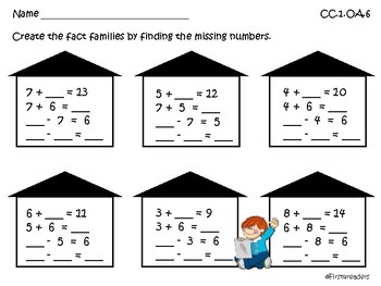 Go Math Chapter Five More Activities Grade 1