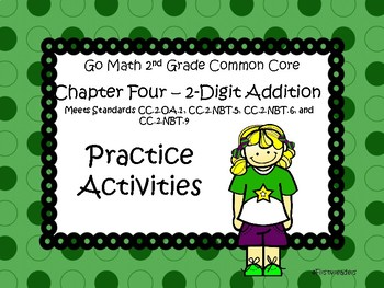 Go Math Chapter Four Activities Grade 2