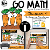 GoMath-First Grade Math Centers, Subtraction Strategies, C