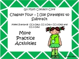 Go Math Chapter Four More Activities Grade 1