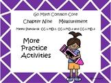 Go Math Chapter Nine More Activities Grade 1
