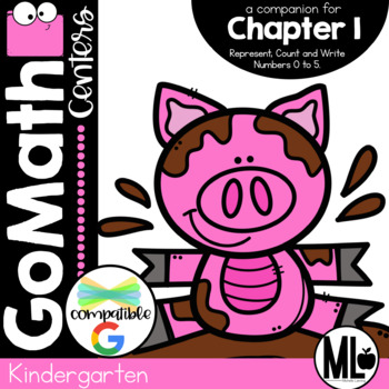 GO Math-Kinder Math Centers, Represent,Count and Write Num