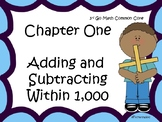 Go Math Chapter One Focus Wall Grade 3
