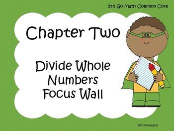 Go Math Chapter One Focus Wall Grade 5