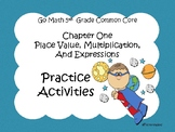 Go Math Chapter One Grade 5 Activity Sheets