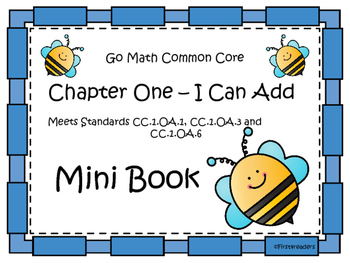 Go Math Chapter One Mini Book