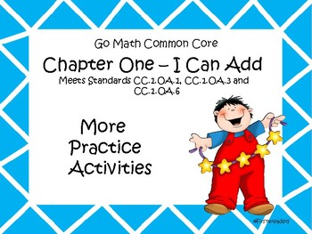 Go Math Chapter One More Activities Grade 1