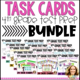 4th Grade Go Math Chapter Review Task Card BUNDLE