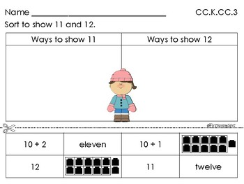 Go Math Chapter Seven K Activity Sheets