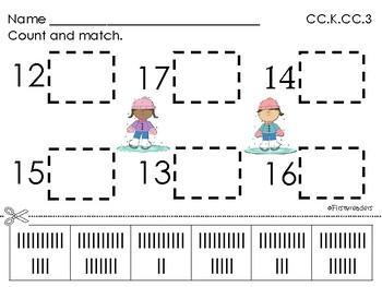 Go Math Chapter Seven K Activity Sheets