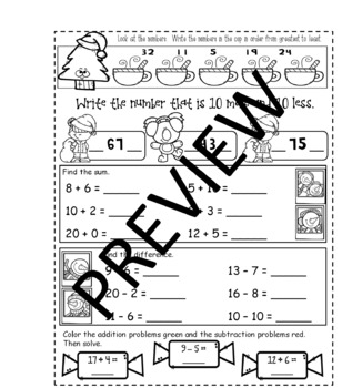 Go Math! Chapter Seven for First Grade