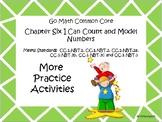 Go Math Chapter Six More Activities Grade 1