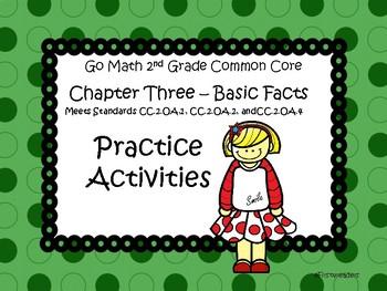 Go Math Chapter Three Activities Grade 2
