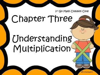 Go Math Chapter Three Focus Wall Grade 3