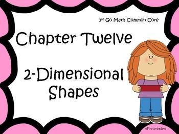 Go Math Chapter Twelve Focus Wall Grade 3