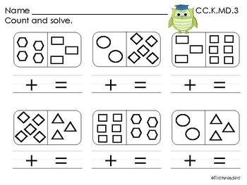 Go Math Chapter Twelve K Activity Sheets