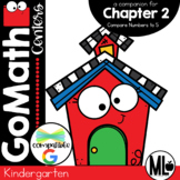 Go Math-Kinder Math Centers, Compare Numbers to 5, Chapter 2