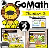 GoMath-Second Grade Math Centers,Numbers to 1,000, Chapter 2