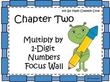 Go Math Chapter Two Focus Wall Grade 4