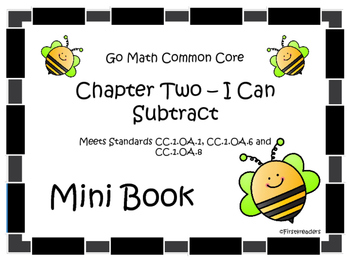 Go Math Chapter Two Mini Book