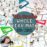 Go Math 4th Grade Math Chapters 1-12 Task Card Games Bundle