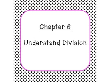 Go Math Chapters 6 and 7