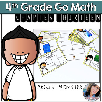 Go Math 4th Grade Math Games Bundle Chapters 9-12