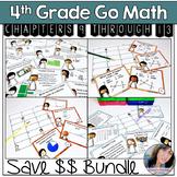 Go Math 4th Grade Math Games Bundle Chapters 9-12