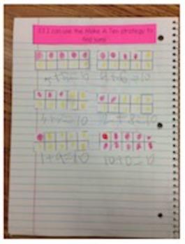 Go Math Chapter 3 Interactive Notebook