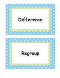 Second Grade Go Math, Common Core Aligned, Vocabulary Card