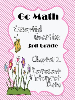 """Go Math """"Essential Question"""" Chapter 2"""