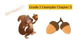 "Go Math Exemplars Grade 2 Chapter 3 ""Oh. Nuts!"""