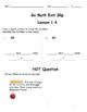 Go Math Exit Slip Lesson 1.4