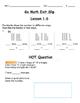 Go Math Exit Slip Lesson 1.6