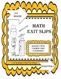 Go Math Exit Slips Chapter 2 First Grade