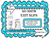 Go Math Exit Slips Chapter 3 Second Grade Exit Slips