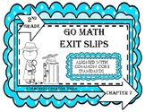 Go Math Exit Slips Chapter 7 Second Grade